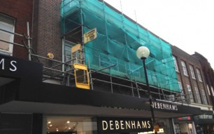 Blackrock Scaffolding - completed project 9